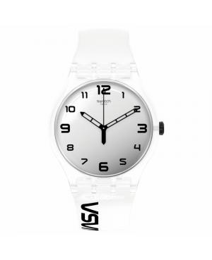 Szwajcarski modowy zegarek męski SWATCH SPACE RACE SUOZ339