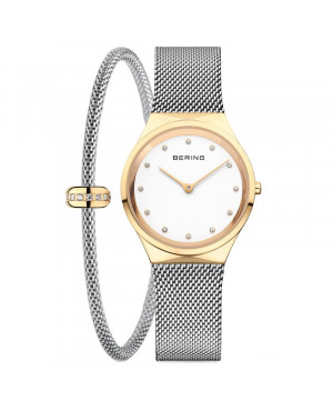 Elegancki zegarek damski BERING Classic Lady 12131-010-SET (12131010SET)