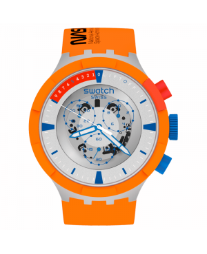 Szwajcarski modowy zegarek męski SWATCH LAUNCH SB04Z401