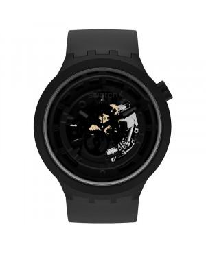 Modowy szwajcarski zegarek męski SWATCH Bioceramic SB03B100