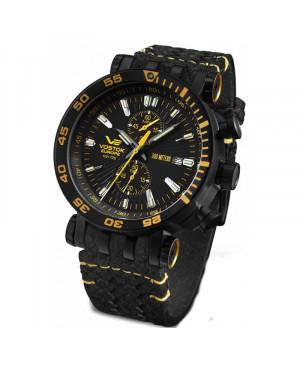 Sportowy zegarek męski VOSTOK EUROPE Energia Chrono Limited Edition VK61/575C589 (VK61575C589)