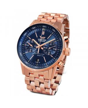 Sportowy zegarek męski VOSTOK EUROPE Gaz-14 Limousine 6S21/565B596B (6S21565B596B)