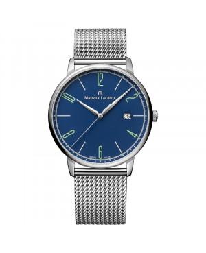 Szwajcarski klasyczny zegarek męski MAURICE LACROIX ELIROS EL1118-SS00E-420-C (EL1118SS00E420C)