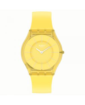 Modowy zegarek damski SWATCH Lemonata SS08J100