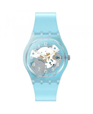 Szwajcarski modowy zegarek damski SWATCH MORNING SKY GL125