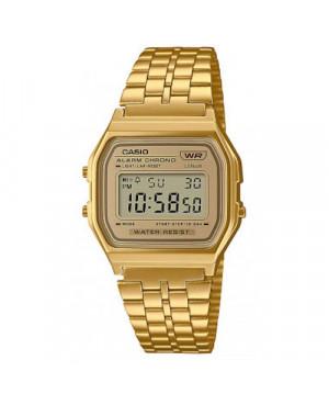 Elegancki zegarek męski CASIO Vintage A158WETG-9AEF (A158WETG9AEF)