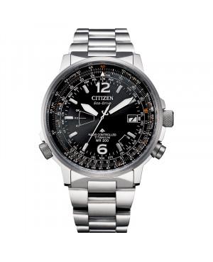 Sportowy zegarek męski CITIZEN PROMASTER PILOT CB0230-81E (CB023081E)