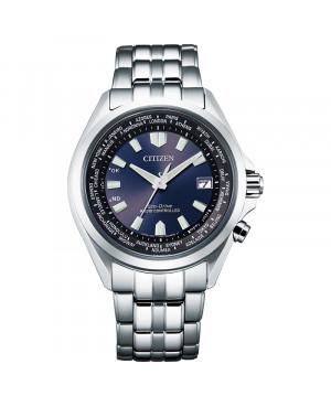 Sportowy zegarek męski CITIZEN Radio controlled CB0220-85L (CB022085L)
