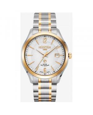 Szwajcarski elegancki zegarek męski ROAMER Mechaline Pro 953660 47 14 90 (953660471490)