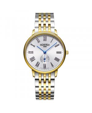 Szwajcarski klasyczny zegarek damski ROAMER GALAXY 948855 47 22 90 (948855472290)