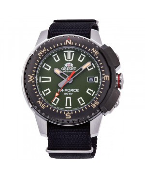 Sportowy zegarek męski ORIENT RA-AC0N03E10B M-Force (RAAC0N03E10B)