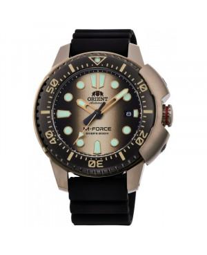 Sportowy zegarek męski ORIENT RA-AC0L05G00B M-Force Diver (RAAC0L05G00B)