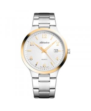 Szwajcarski elegancki zegarek męski ADRIATICA A1006.2153Q (A10062153Q)