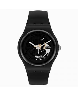 Szwajcarski modowy zegarek męski SWATCH Bioceramic SO32B108