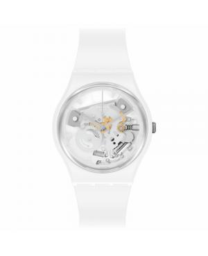 Szwajcarski modowy zegarek damski SWATCH Bioceramic SO31W102