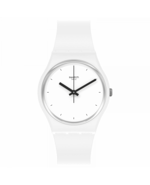 Szwajcarski modowy zegarek damski SWATCH Bioceramic SO31W100