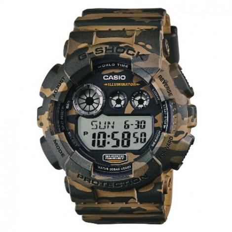 Sportowy zegarek męski Casio G-shock GD-120CM-5ER (GD120CM5ER)