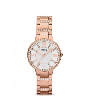 Biżuteryjny zegarek damski FOSSIL VIRGINIA ES328