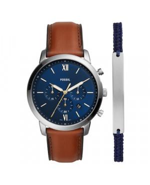 Elegancki zegarek męski FOSSIL NEUTRA CHRONO FS5708SET
