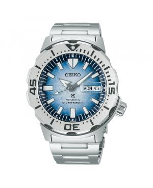 Japoński, męski zegarek do nurkowania SEIKO Prospex Save the Ocean Antarctica Special Edition SRPG57K1