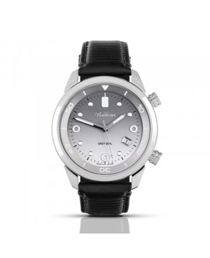 Polski, klasyczny zegarek męski BALTICUS Grey Seal II BLT-BALGSRG