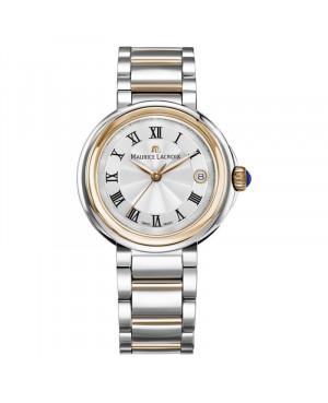 Szwajcarski elegancki zegarek damski MAURICE LACROIX Fiba Date FA1007-PVP13-110-1 (FA1007PVP131101)