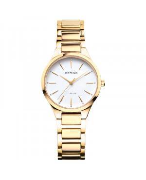 Elegancki zegarek damski BERING Titanum 15630-734 (15630734)