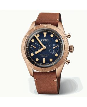 ORIS 01 771 7744 3185-Set Carl Brashear Chronograph Limited Edition (0177177443185Set)