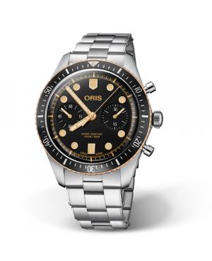 ORIS Divers Sixty-Five Chronograph 01 771 7744 4354-07 8 21 18 (01771774443540782118)