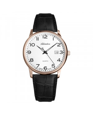 Szwajcarski klasyczny zegarek męski ADRIATICA A8242.9223Q (A82429223Q)