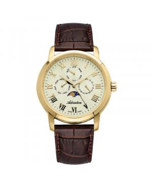Szwajcarski elegancki zegarek męski ADRIATICA A8134.1231QF (A81341231QF)
