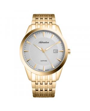 Szwajcarski elegancki zegarek męski ADRIATICA A1288.1117Q (A12881117Q)