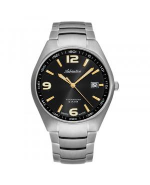 Szwajcarski elegancki zegarek męski ADRIATICA A1069.415GQ (A1069415GQ)