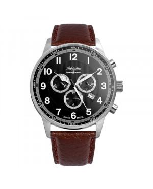 Szwajcarski sportowy zegarek męski ADRIATICA A1076.5B24CHXL (A10765B24CHXL)