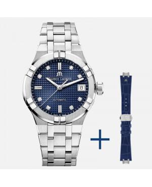 Szwajcarski elegancki zegarek damski MAURICE LACROIX AIKON AI6006-SS002-450-2 (AI6006SS0024502)
