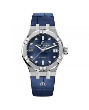 Szwajcarski elegancki zegarek damski MAURICE LACROIX AIKON AI6006-SS001-450-1 (AI6006SS0014501)