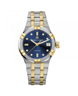 Szwajcarski elegancki zegarek damski MAURICE LACROIX AIKON AI6006-PVY13-450-1 (AI6006PVY134501)