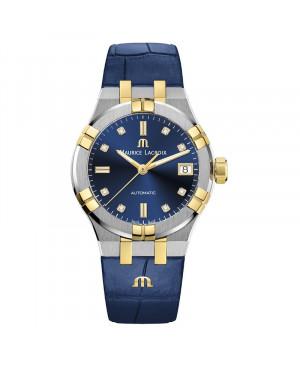 Szwajcarski elegancki zegarek damski MAURICE LACROIX AIKON AI6006-PVY11-450-1 (AI6006PVY114501)