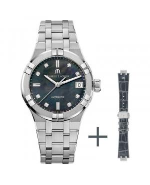 Szwajcarski elegancki zegarek damski MAURICE LACROIX AIKON AI6006-SS002-370-2 (AI6006SS0023702)
