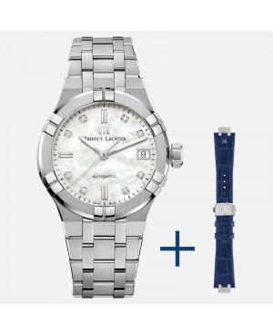 Szwajcarski elegancki zegarek damski MAURICE LACROIX AIKON AI6006-SS002-170-3 (AI6006SS0021703)