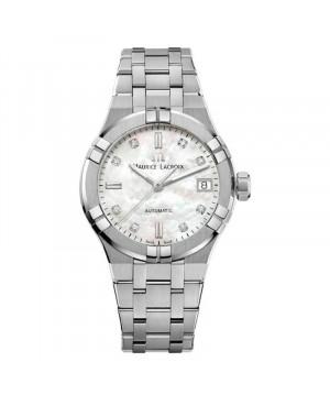 Szwajcarski elegancki zegarek damski MAURICE LACROIX AIKON AI6006-SS002-170-1 (AI6006SS0021701)