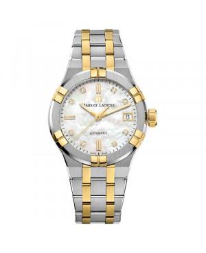 Szwajcarski elegancki zegarek damski MAURICE LACROIX AIKON AI6006-PVY13-170-1 (AI6006PVY131701)