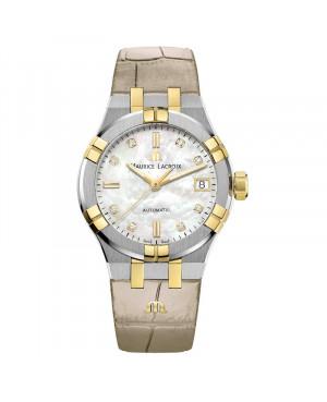 Szwajcarski elegancki zegarek damski MAURICE LACROIX AIKON AI6006-PVY11-170-1 (AI6006PVY111701)