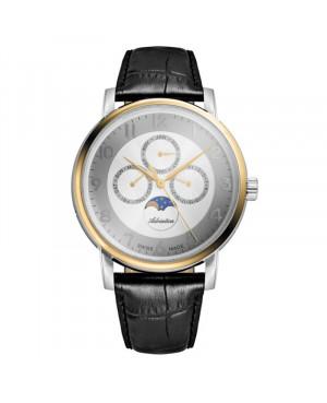 Szwajcarski elegancki zegarek męski ADRIATICA A8274.2223QF (A82742223QF)