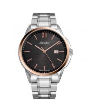 Szwajcarski klasyczny zegarek męski ADRIATICA A1290.R166Q (A1290R166Q)