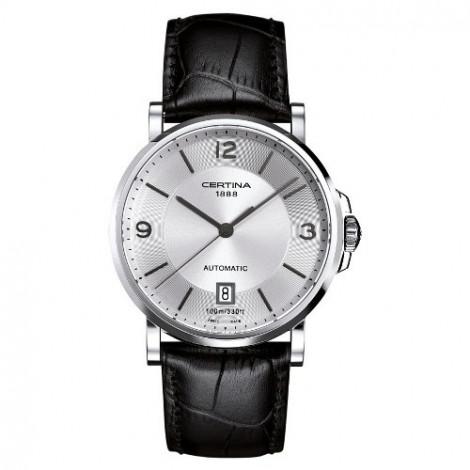 Szwajcarski, klasyczny zegarek męski Certina DS Caimano Gent Automatic C017.407.16.037.00 (C0174071603700)