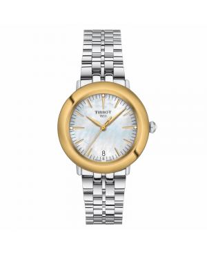 Szwajcarski elegancki zegarek damski TISSOT Glendora Diamonds T929.210.41.116.01 (T9292104111601)