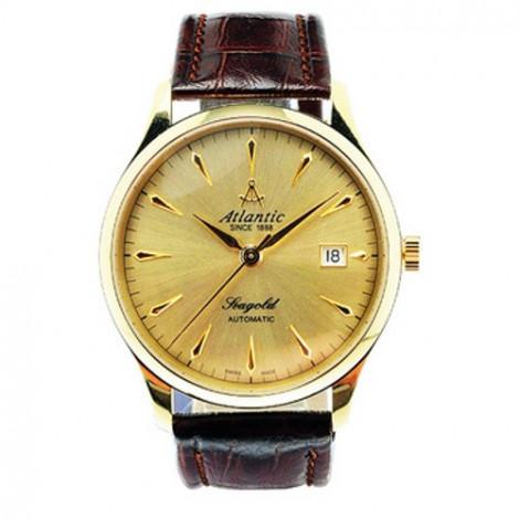 Klasyczny zegarek męski Atlantic Seagold 95743.65.31 (957436531)