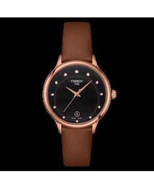 Szwajcarski elegancki zegarek damski TISSOT Odaci-T T133.210.36.056.00 (T1332103605600)