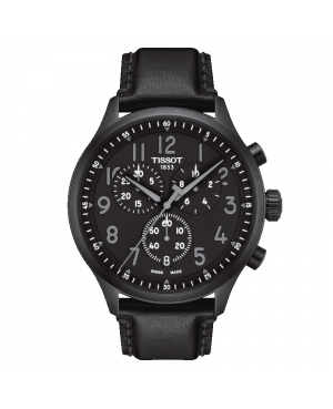 Szwajcarski sportowy zegarek męski TISSOT Chrono XL Vintage T116.617.36.052.00 (T1166173605200)